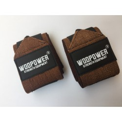 wrist wraps brown