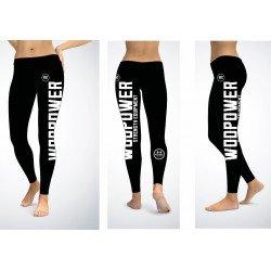 Leggings with logo