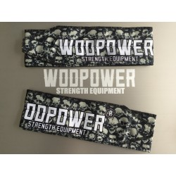 Wrist wraps cotton, skull